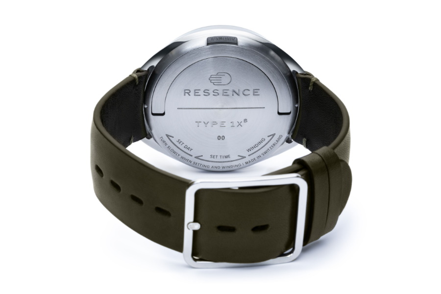 ressence limited edition watch