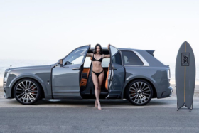 Rolls-Royce vehicle with Cullinan Surf Edition