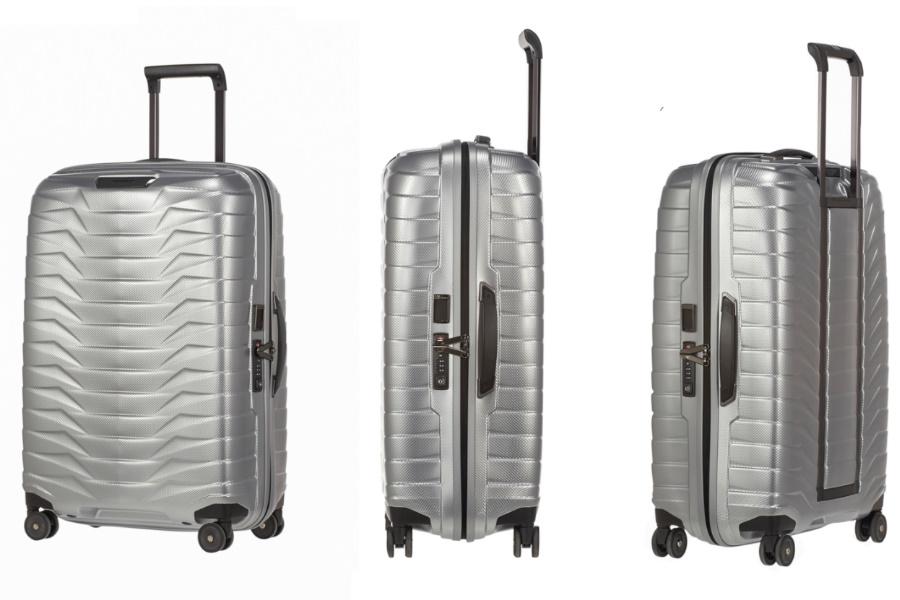 samsonite proxis luggage closer look