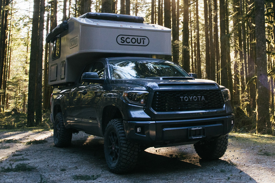 Scout Olympic Camper side view