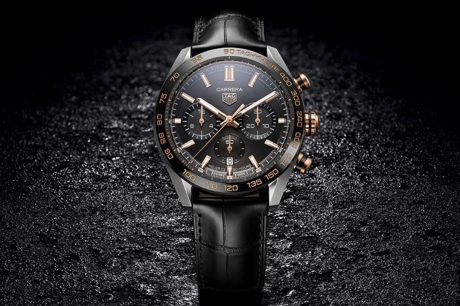 TAG Heuer racing chronograph black
