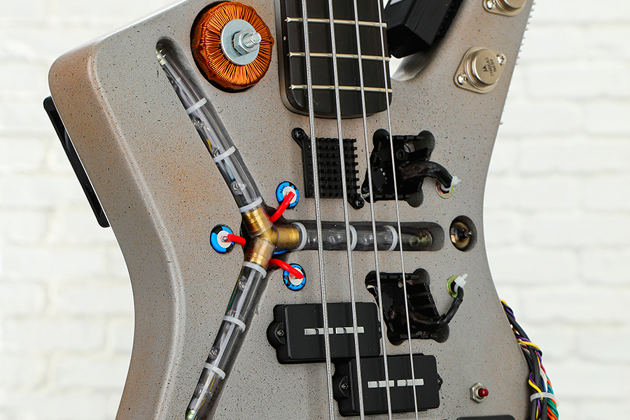 Time Machine Bass From Back to the Future