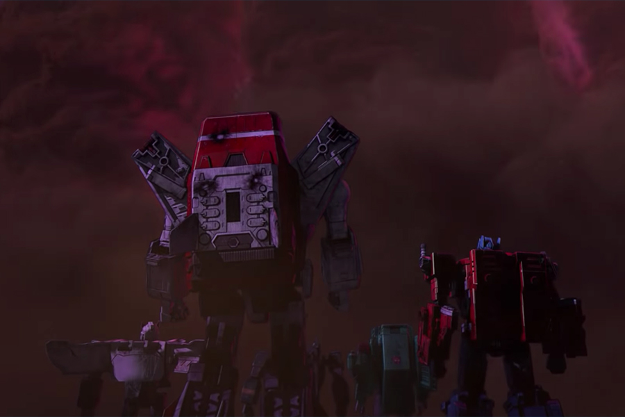 Transformers war for cybertron 1