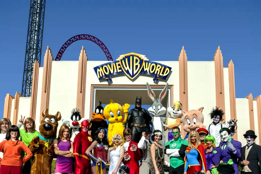 Best Theme Parkes (Gold Coast) - Movie World