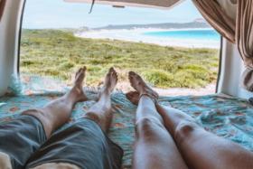 camper van vacation for two