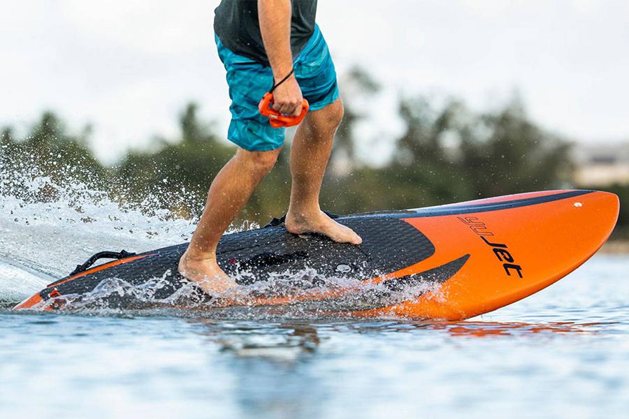 Yujet Surfboard ride