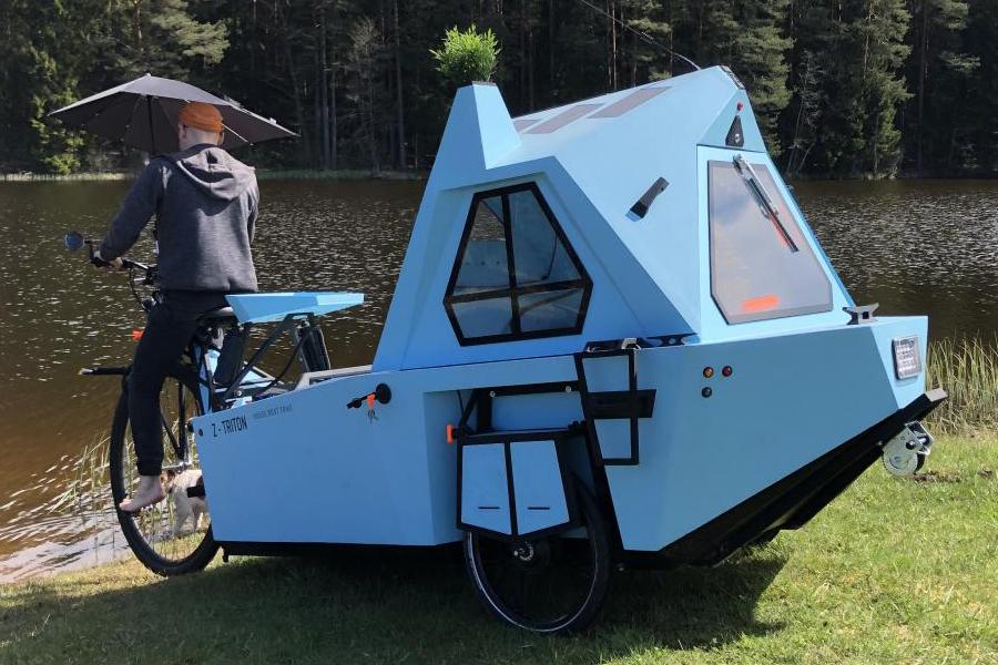 Z-Triton House-Boat-Trike