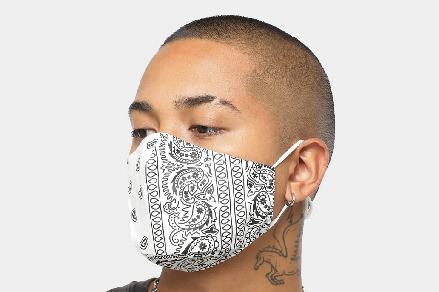 buy face mask australia - oat Crew Big Bandana Face Mask
