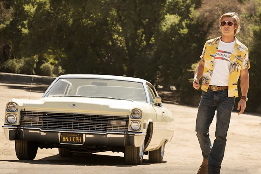 once upon a time in hollywood cadilac