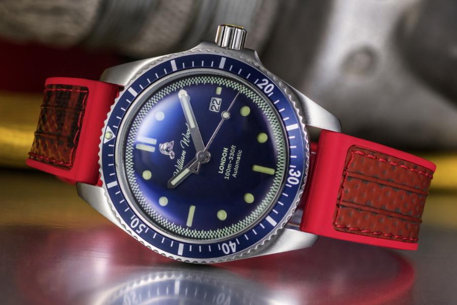 william wood watch strap
