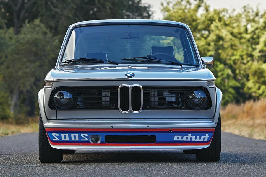 turbocharged bmw sports car