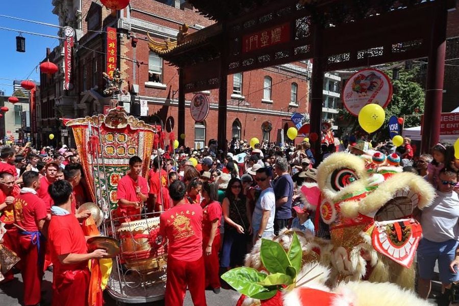 Chinese New Year Melbourne Chinatown