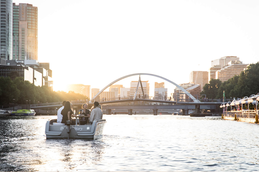 GoBoat Down the Yarra