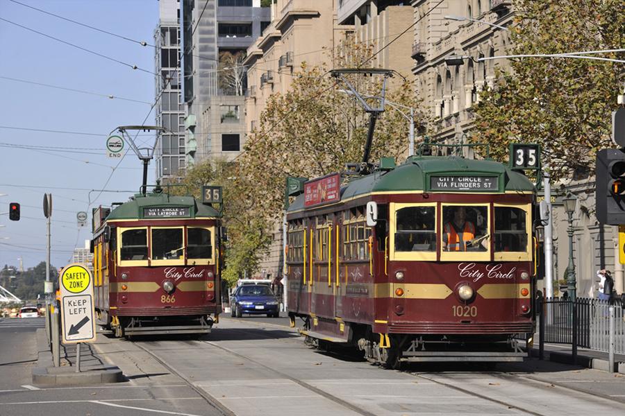 Tram Melbourne 2