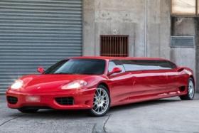 2003 Ferrari 360 Modena limo 1