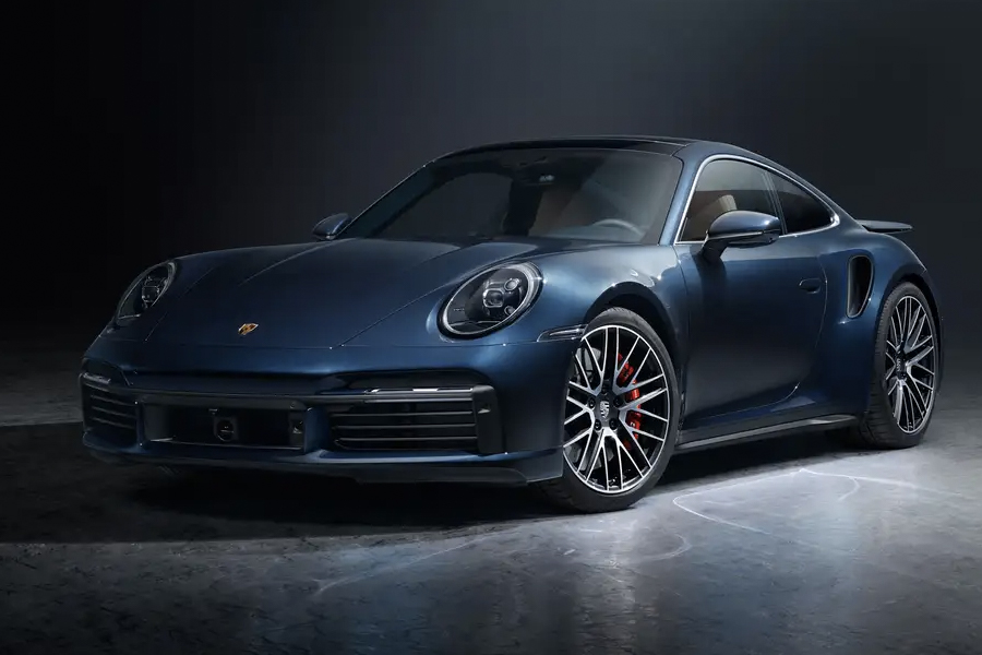 2021 Porsche 911 Turbo 3