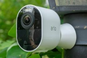 Arlo Spotlight Security Camera