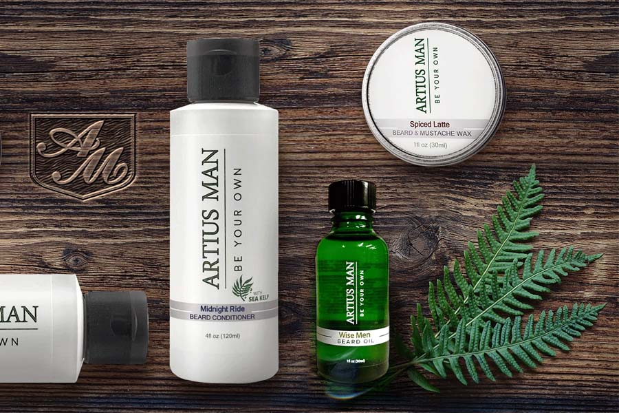 Artius Man beard care products