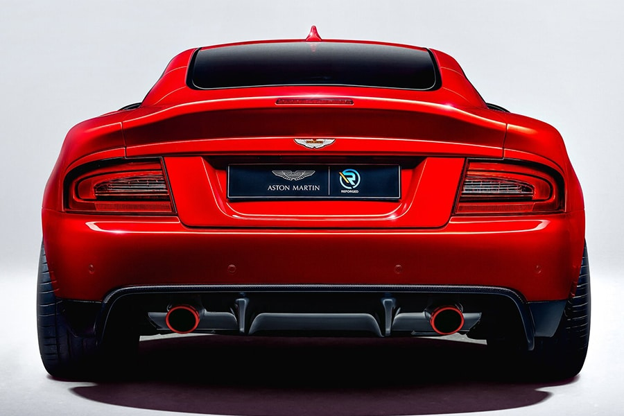 Aston Martin Callum back