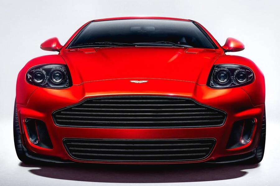 Aston Martin Callum front