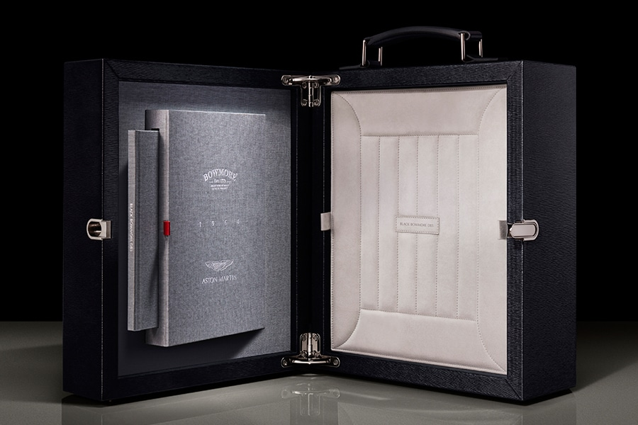 Aston martin x Bowmore Whisky box