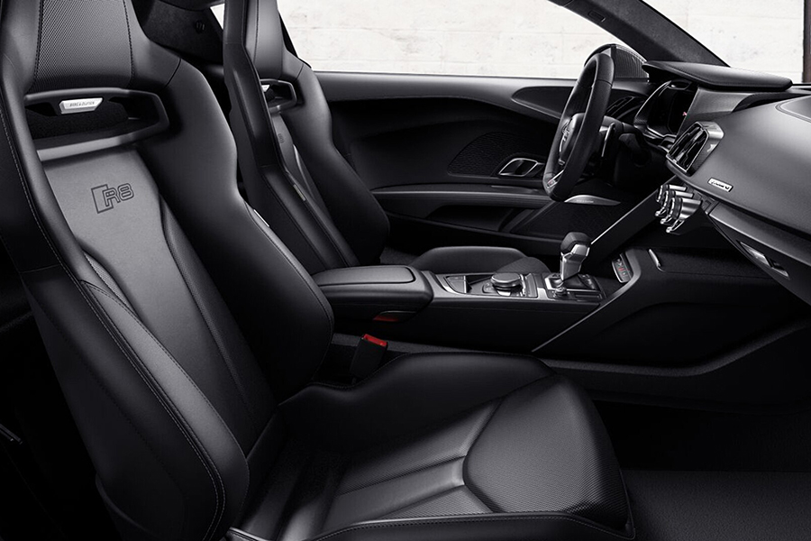 Audi R8 Coupé V10 car seat upholstery
