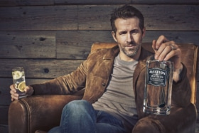 Ryan Reynolds sells Aviation American Gin to Diageo