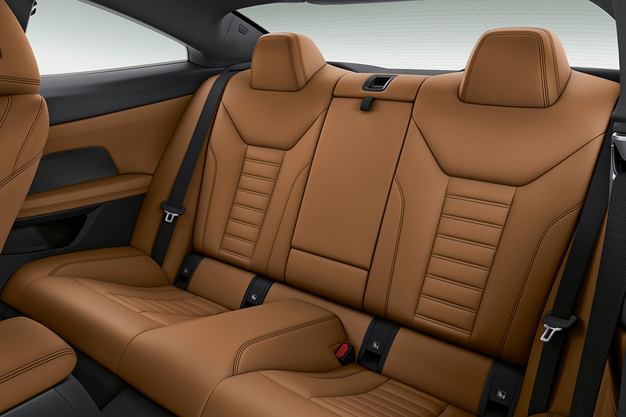 BMW 4 Series Coupe car seat upholstery