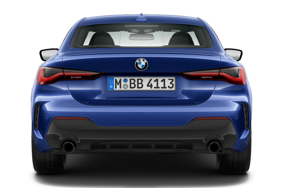 BMW 4 Series Coupe back