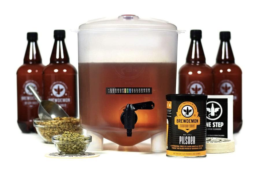 Best Home Brew Kits - BrewDemon Craft Beer Brewing Kit Pro