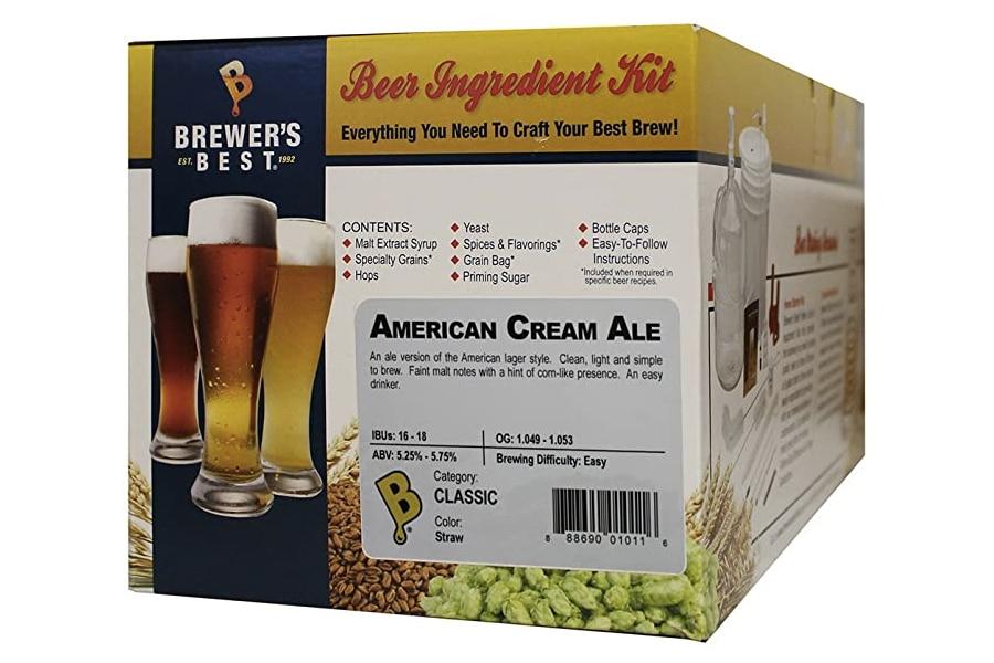 Best Home Brew Kits - Brewer's Best American Cream Ale