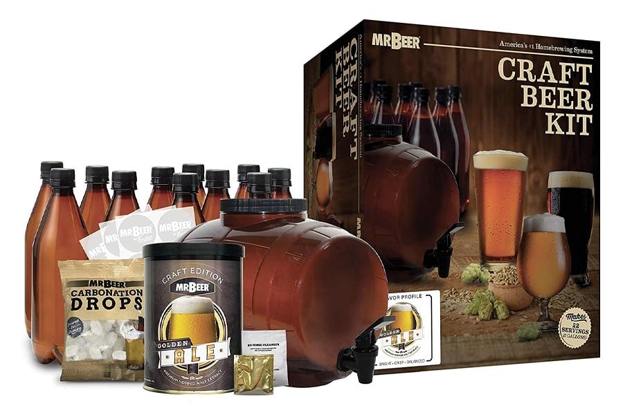 Best Home Brew Kits - Mr. Beer Craft Beer Kit