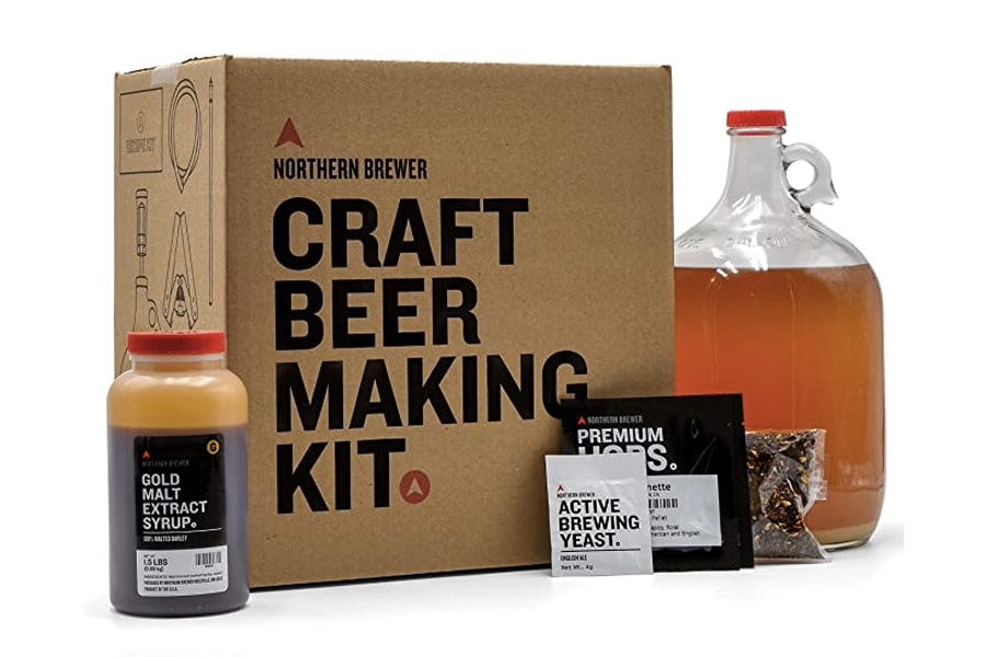 Best Home Brew Kits - Northern Brewer Caribou Slobber Brown Ale