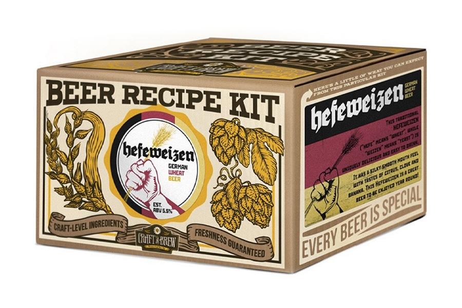 Best Home Brew Kits - craft a brew hefeweizen