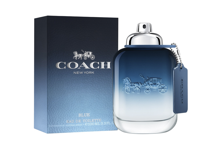 Feel the Freedom of the Road with the New Coach Blue Fragrance