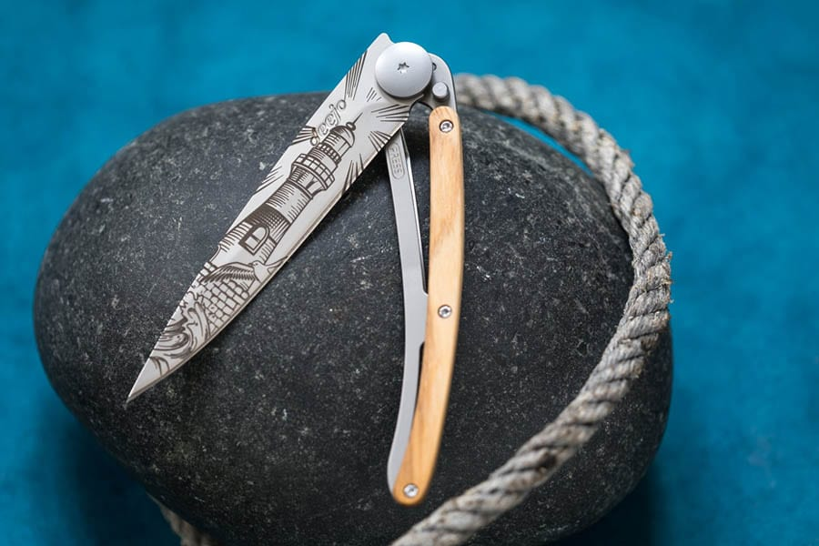 A Deejo Pocket knife