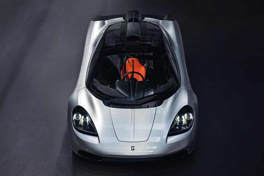 Designer of the McLaren F1 debuts the T.50 front