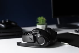 EPOS | Sennheiser GSP 670 Gaming Headset on a table