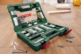 Bosch 91-Piece Titanium Set