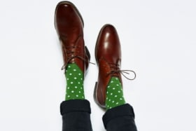 Fredrick Harold socks for dad