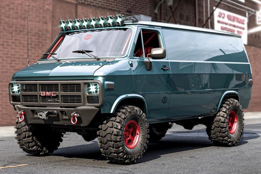 GMC 83 Van Concept