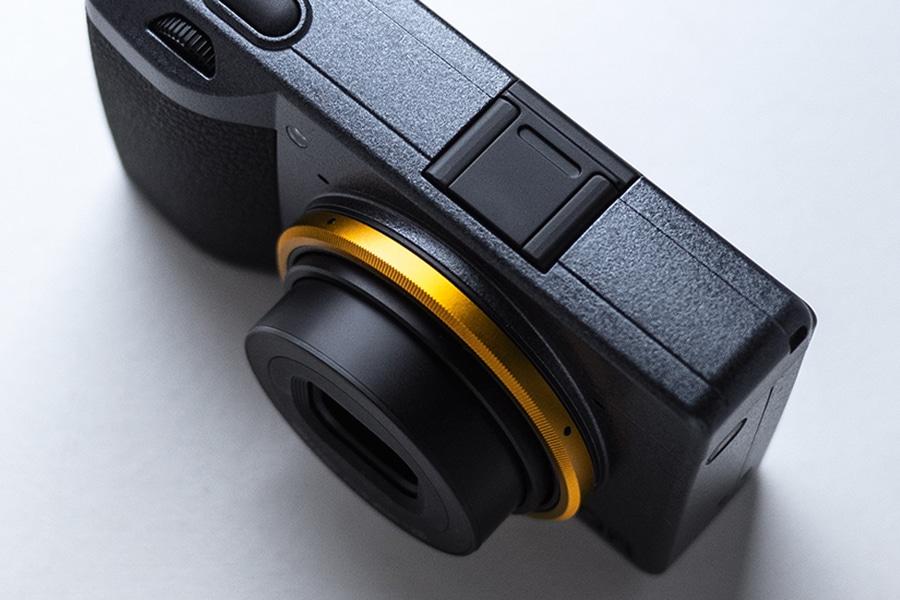 GR 3 Street Edition Film lens open