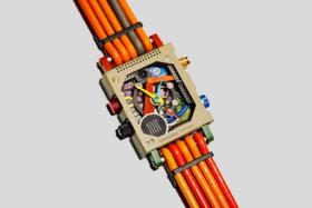 Garbage Watch from Vollebak strap