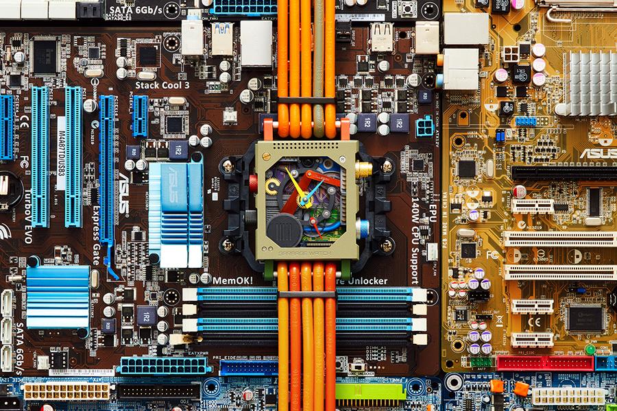 Garbage Watch from Vollebak computer parts