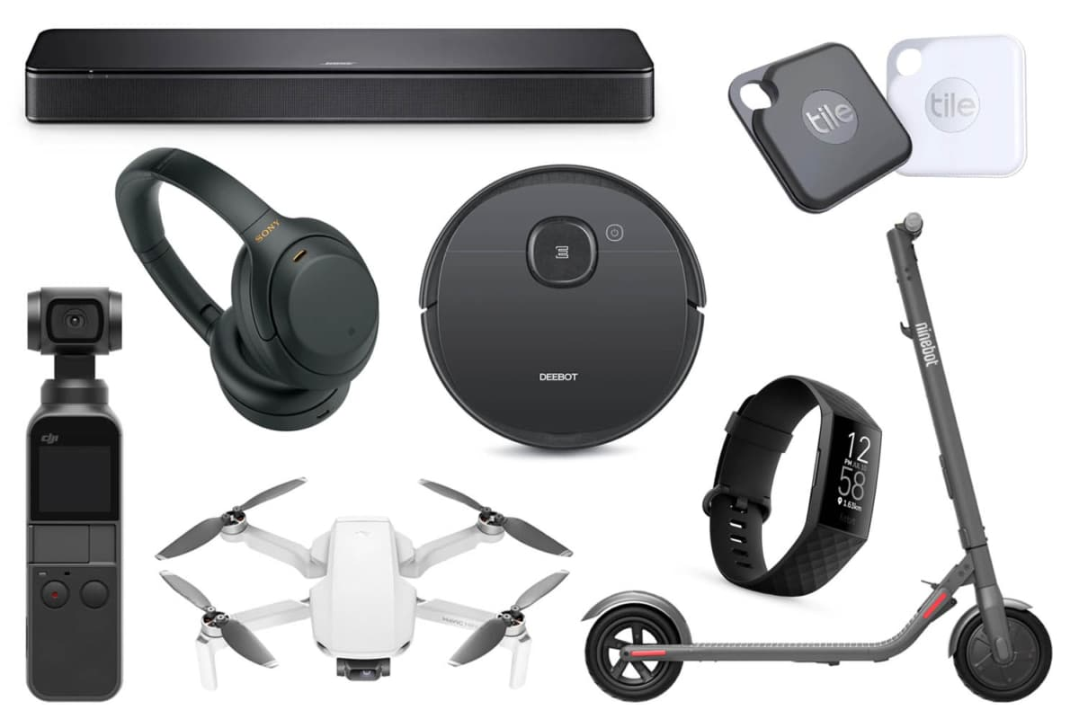 Gadgets from the list