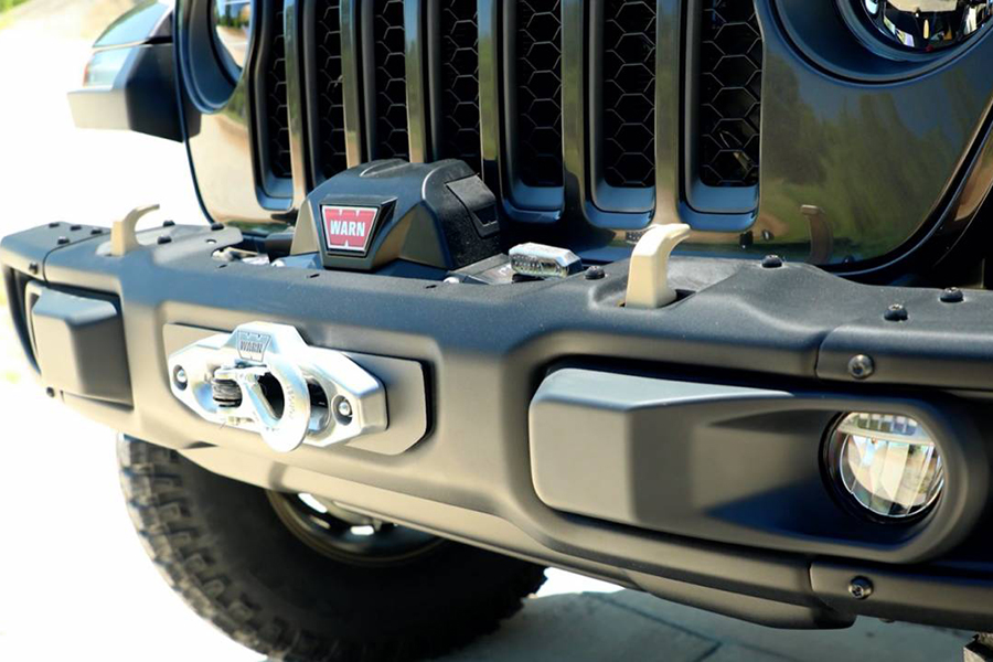 Jeep® Introduces New 6.4-liter V-8 Wrangler Rubicon 392 Concept front