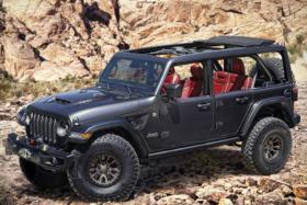 Jeep® Introduces New 6.4-liter V-8 Wrangler Rubicon 392 Concept