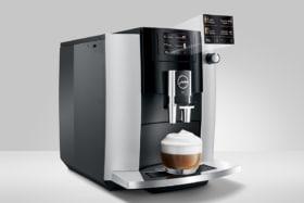 Jura E6 add cream to coffee