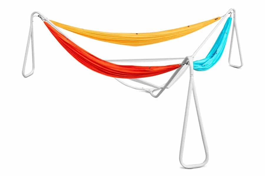 Kammok Baya hammock in stand