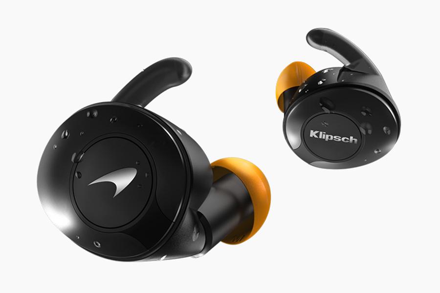 Klipsch-e-McLaren earbuds